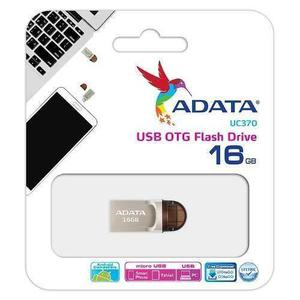 Memoria 2 En 1 Adata 16gb Uc370 Usb 3.0 - Usb Tipo C