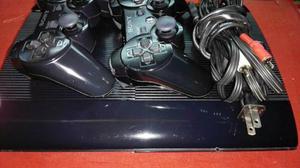 Playstation 3 Super Slim 2 Controles Y Cables 250 Gb