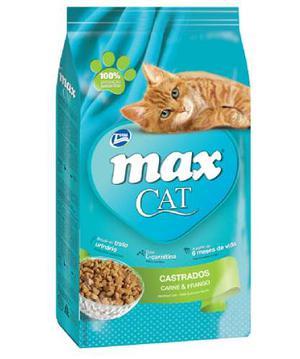 Total Max Alimento Para Gato -max Cat Castrados 3 Kg