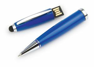 Tres Esferos Bolígrafo Con Memoria Usb De 4gb