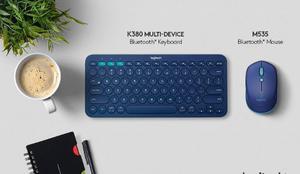 Combo Logitech Practico Bluetooth 2 En 1 Teclado+mouse