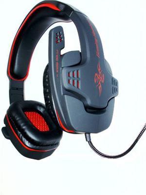 Diadema Microfono Audifono Gaming Omega Hs- Negro/rojo