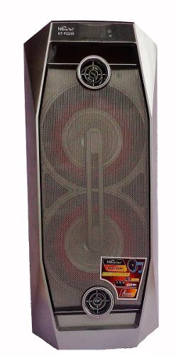 Cabina Parlante Portable, Bluetooth Con Karaoke Y Luces Led