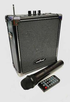 Parlante Cabina De Sonido Portátil Karaoke Bluetooth