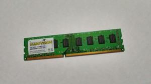 Memoria Ram Ddr3 4gb Markvision Para Pc -  Mhz Nueva