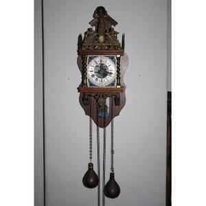 Reloj Antiguo De Pesas Negociable