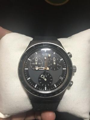 Reloj Swatch Negro Original