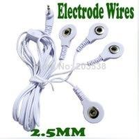 Repuesto Electrodos Cables Gimnasia Pasiva De Aguja Y Botón