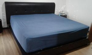 Cama con colch n rambler posot class for Cama doble con cama auxiliar