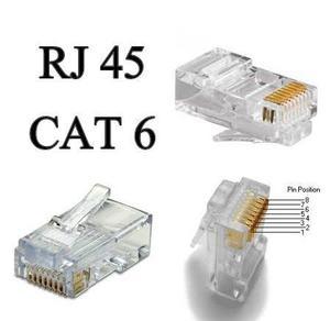 Conectores RJ45 cat.6e Rfg3
