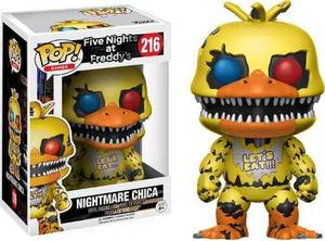 Funko Pop Nightmare Chica (216) Five Nights At Freddy's