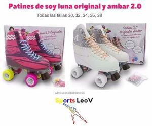 Patin Soy Luna 4 Ruedas Original Y Ambar. Todas Las Tallas!!