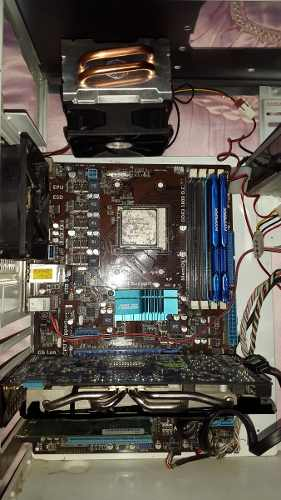 Phenom Ii X4 + M4a77 Asus + Cooler Master Combo Gamer Medio.