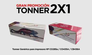 2 Toners Genéricos Para Impresora Hp 83a