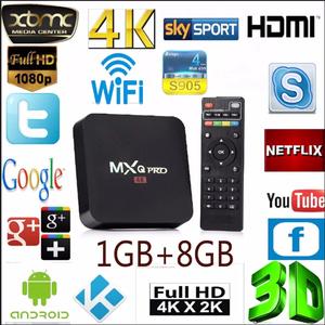 Android Tv Box Convierte Tu Tv En Smart Tv