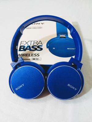 Audífonos Extra Bass Bluetooth Nuevos