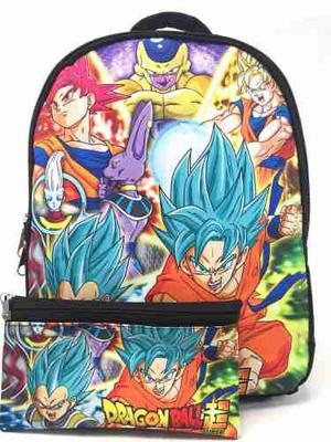 Maleta Morral Comics Dragon Ball Z Niño