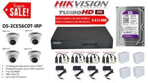 camaras de seguridad hikvision y wifi robotica mini ptz