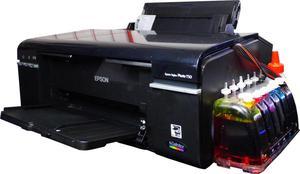 EPSON T50 con tinta de sublimación