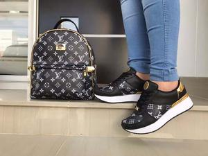 Morral Louis Vuitton Mujer + Zapatos Louis Vuitton Mujer