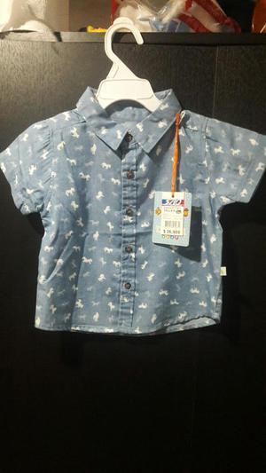 Camisa Niño T 18 Meses