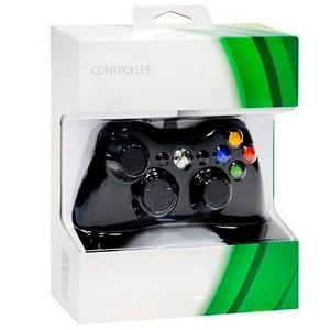Control Generico Para Xbox 360 Negro Nuevo Inalambrico