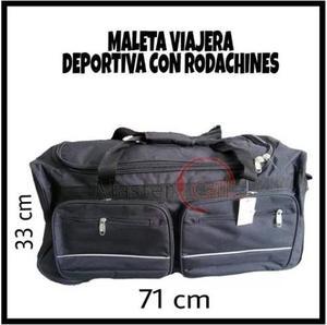 Maleta Ruedas Deportiva Equipaje Viaje