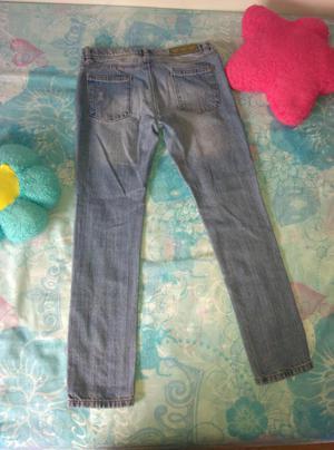 Pantalon de niña de jean. Talla 8. Poco uso