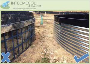 Estanques tanques geomembrana piscicultura posot class for Piscicultura en tanques plasticos