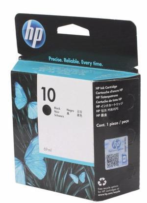 Cartucho de Tinta HP 10 NEGRO para Plotter HP Designjet 500,