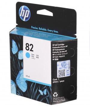 Cartucho de Tinta HP 82 Amarillo para Plotter HP Designjet