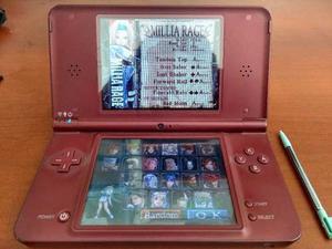 Consola Nintendo Dsi Xl Roja + 40 Juegos