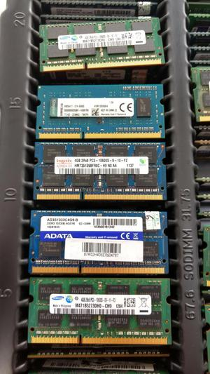 Memoria DDR3 4GB Portatil