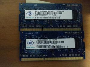 Memoria Ram Drr3 2gb