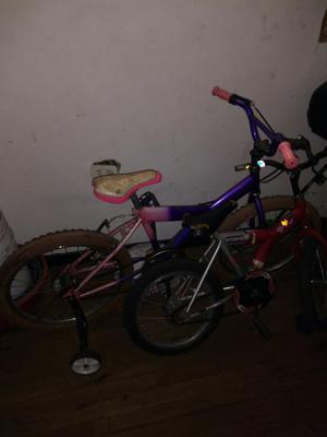 Vendo Dos Bicicletas para Niño Y Niña