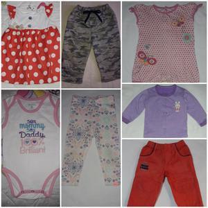 Vendo lote de ropa para bebita 6 meses