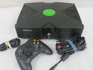 Xbox Con Controles Y Cables