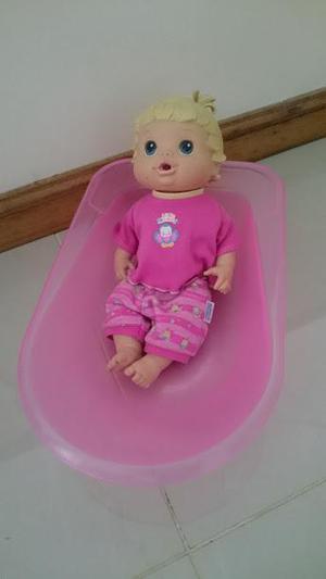 vendo bañera para bebes de juguete en perfecto estado
