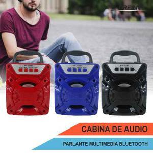 Cabina Ms-301 Parlante Bluetooth Usb Fm Micro Sd Auxiliar Rc