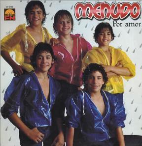Menudo – Por Amor Sello: FM Discos – LP