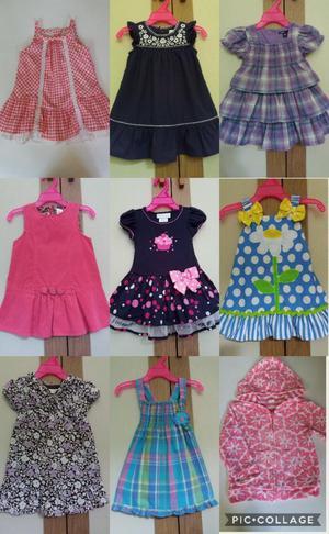 Vestidos para Niña Talla 12 Meses Ropa a