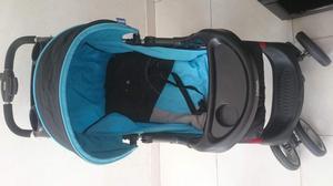 Coche paseador y silla para carro de bebe