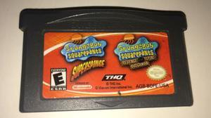 Juego De Gameboy Advance, Bob Esponja 2 En 1, Spongebob