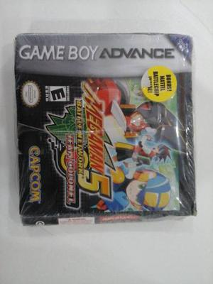Juego Game Boy Advance Megaman 5 Battle Network Team Colonel