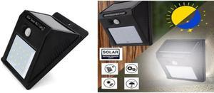 Lampara luz sensor detector movimiento 6 led posot class for Luz de led para exterior