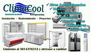 Servicio Tecnico Refrigeracion Aires Acondicionados Neveras