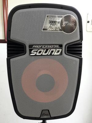 Cabina de Sonido Profesional todo en uno nueva con Tripode