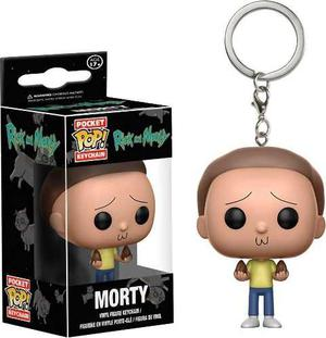 Llavero Funko Pop Morty Funko Keychain Rick And Morty