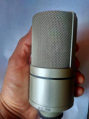 Micrófono Condensador MXL 990 MAS ACCESORIOs