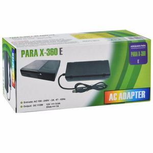 Adaptador Cargador Transformador Xbox 360e Slim Y Elite